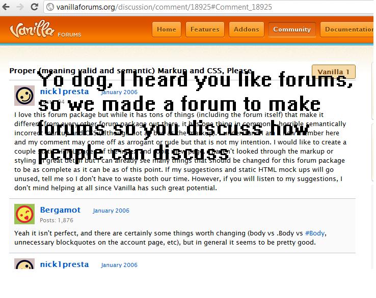 Building The Forum: Or, Help Design Trevor's Dissertation