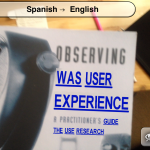 Observing Was User Experience