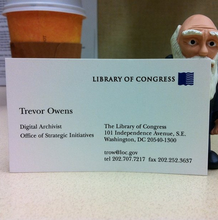 """New business cards"" Uploaded on November 15, 2010"