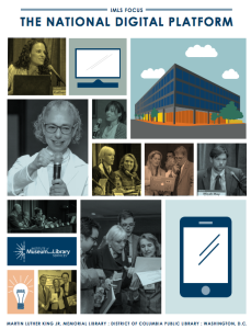Cover of the National Digital Platform convening report. Read the report online (PDF).