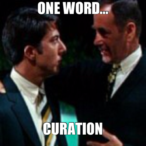 one word curation